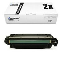 2x Eco Cartridge Black XXL Replaces Canon 723BK 723H CRG-723BK