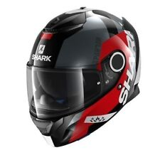 Motorcycle Helmet Shark Spartan APICS Colour: Black/Red/Anthracite GR: M (57)
