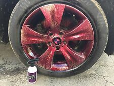 500ml IRON CONTAMINANT & FALLOUT REMOVER. ALLOY WHEEL CLEANER 500ml