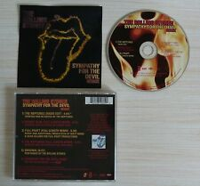 CD MAXI SINGLE SYMPATHY FOR THE DEVIL THE ROLLING STONES 6 TITRES