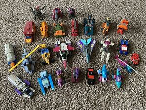 HASBRO TRANSFORMERS G1 LOT WHIRL APEFACE DARKWING WRECK-GAR ROADBUSTER GRAPPLE