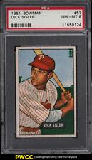 1951 Bowman SETBREAK Dick Sisler #52 PSA 8 NM-MT (PWCC)