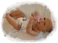 Doro Dolls Babypuppe Mädchen mit Windel+Flasche 54cm Spielpuppe