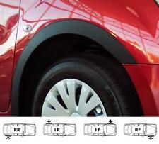 RENAULT MASTER mk3 wheel wing arch trims cover NEW set 4 pcs BLACK MATT '10-...