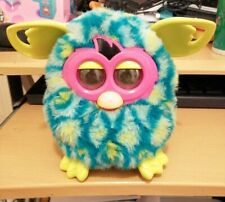 FURBY BOOM BLUE AND YELLOW LOVELY CONDITION HASBRO 2012 INTERACTIVE PET