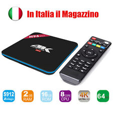 H96 Pro Amlogic S912 Octa Core Android TV Box 6.0 2G 16G 2.4G/5.8G WiFi BT4.0 4K