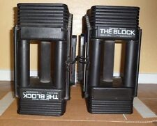 The Block PowerBlock Personal - Pair of Adjustable Dumbbell Weights - 45 Pounds