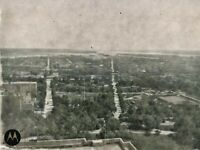 1908 Washington DC From Capitol Roof Vintage Photo Dry Plate Glass Negative