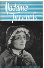 Guide and Biographies MADAME TUSSAUDS - 80 pages en Anglais - 1952