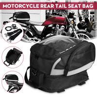 Motorcycle Tank Bag Rear Tail Seat Saddle Bag Travel Storage Luggage  **