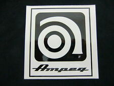 AMPEG BASS GUITAR AMPLIFIER STICKER DECAL CASE RACK BUMPER STICKER NEW