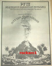 PFM / ISOTOPE @ Rainbow 1974 UK Poster size Press ADVERT 16x12 inches