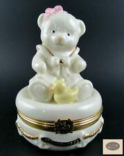 Lenox Treasures Sailor Girl Teddy Bear Box - Perfect for Baby's Room