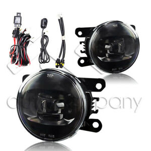 For Grand Vitara & SX4 CREE LED Replacement Fog Lights w/Wiring Kit - Clear