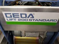 Geda Winde Standard Ersatzwinde Ersatzmotor Stecklift Steckaufzug Schräglift