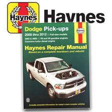Repair Service Shop Manual for Dodge Ram Truck 2009 2010 2011 2012 Haynes 30043