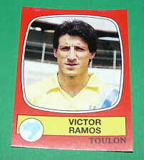N°302 VICTOR RAMOS SPORTING CLUB TOULON PANINI FOOTBALL 87 1986-1987