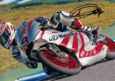 Danny Webb Hand Signed Mahindra Racing 7x5 Photo 125cc 2011 1.