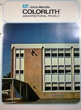 Johns Manville ASBESTOS Colorlith Architectural Panels