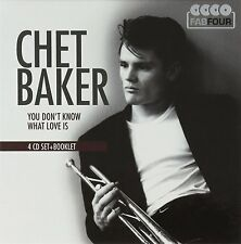 CHET BAKER - YOU DON'T KNOW WHAT LOVE IS  CD