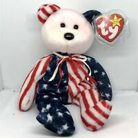 TY Beanie Baby Rare Retired Original Mint Condition 1999 Spangle Bear