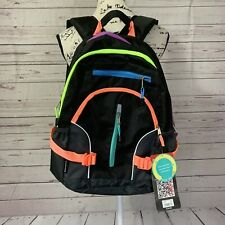 """New listing New Eastsport Neon Sport Backpack 5 Compartments 15"""" Laptop School Bag Pack"""