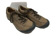 Keen TOYAH Women's Lace up Brown Suede Leather Shoes Hike Trail 1004445 Size 8.5