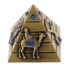 Metall Ägyptische Pyramide Achitektur Modell Figur Dekofigur Statue