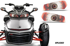 AMR Racing Head Light Eyes For Can-Am Spyder F3 Headlight Decals Part SPLICED