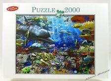 Underwater World 2000 Piece Jigsaw Puzzle, Dolphin Reef ~ New