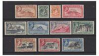 Gibraltar - 1938, 1/2d - £1 (less 3 values) - Perf - SPECIMEN - Mint - SG 121/31