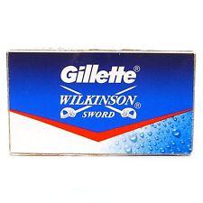 100 pcs GILLETTE WILKINSON SWORD RAZOR BLADES double edge safety razor blade