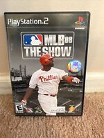 MLB 08: The Show Sony PlayStation 2 2008 Pre-owned