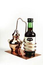 CopperGarden® Flaschenhalter Alembik aus Kupfer ❀ Miniaturdestille ❀ Destille