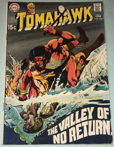 Tomahawk #124 VG+ 1969 DC Comic Book Silver Age Western Neal Adams Cover