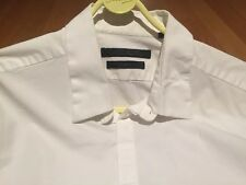 """Kenneth Cole - Mens White Shirt - 16.5"""" - Skinny Fit/Stretch"""