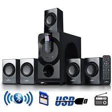 BeFree 5.1 CHANNEL SURROUND SOUND BLUETOOTH HOME THEATER SPEAKER SYSTEM BLACK
