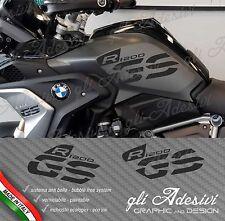 Set Adesivi Fianco Serbatoio Moto BMW R 1200 gs LC Executive 2017 BLACK
