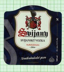 CZECH Svijany Brewery Svijansky Vozka new 2021 beer label B000 078
