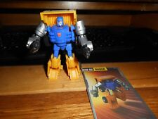 iGear Transformers Mini Warriors MW-02 Rager Huffer, complete w packaging