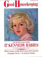 3-1/2 Year Old Caroline Kennedy Cover  1961   Complete Magazine Kennedy Family