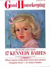 3-1/2 Year Old Caroline Kennedy Cover Good Housekeeping Magazine Kennedy Family