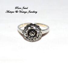 Silver Marcasite Ring Art Deco Costume Jewellery