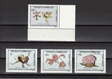 TIMBRE STAMP 4 R. DOMINICAINE Y&T#394-97 FLEUR FLOWER  NEUF**/MNH-MINT 1981 ~B71