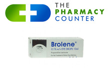 Brolene 10ml Minor Bacterial Eye Infections Drops Conjunctivitis,Blephritis