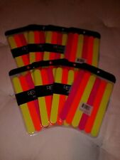 Large Lot of neon emery boards Eight packages with 6 files in each! New