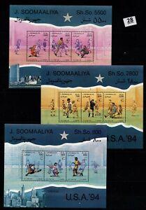 / SOMALIA 1994 - MNH - SOCCER - USA