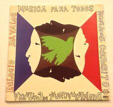 Eulogio Davalos Miguel Angel Cherubito-musica Para Todos LP Gong Chile