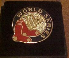 Boston Red Sox 2004 World Series Press Pin RARE
