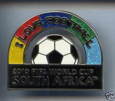 RARE BIG PINS PIN'S 3D .. FOOTBALL CUP 2010  AFRICA ¤1C